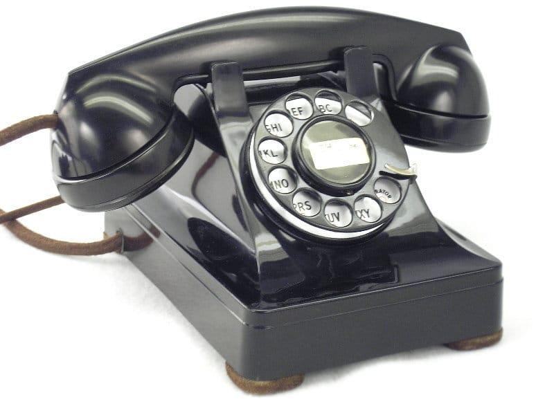 台式電話示意圖